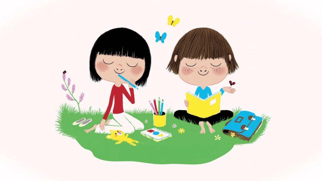 Après-Midi Relaxation et Détente, Petits Jeux pour ENFANTS